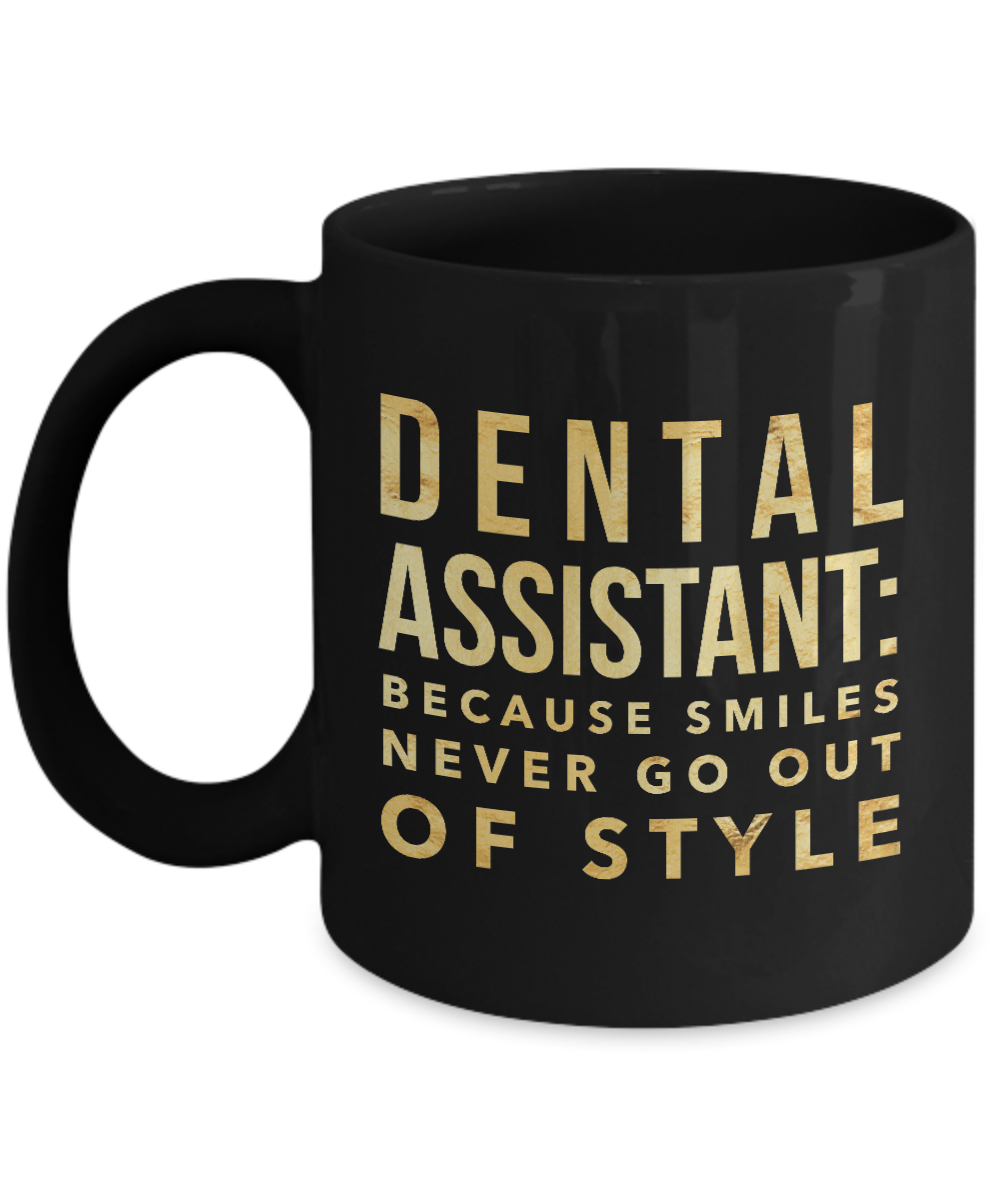 d6e34dfef0 Perfect Dental Assistant mug says it all! High-quality sublimation ink used  ensure that it will never fade. Microwave and dishwasher safe.