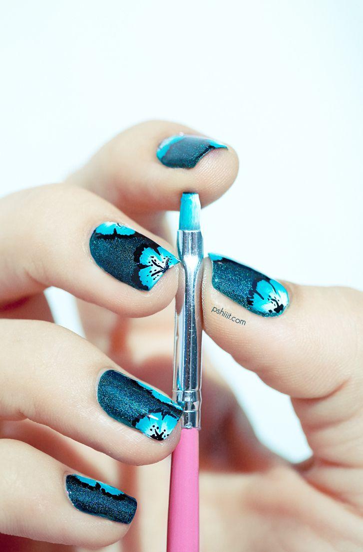 nail art faux stamping detail   Vernis à ongles, Idées