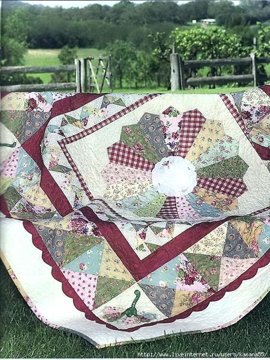 Dresden Plate ~ quilt instructions