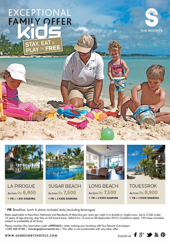 Sun resorts family Promo