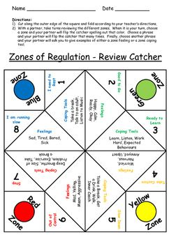 Everyone Loves Cootie Catchers This Template Provides Students A