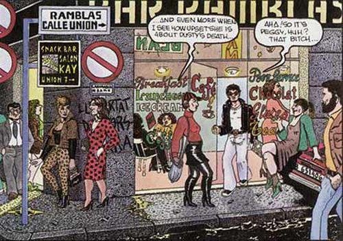 nazario, comic, art, vice, barcelona, underground