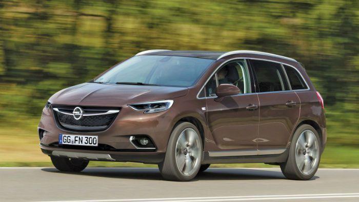 Opel Zafira 2017 Tourer Mokka