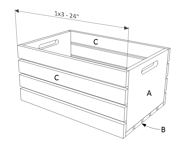 Wood Crate Plans in 2020