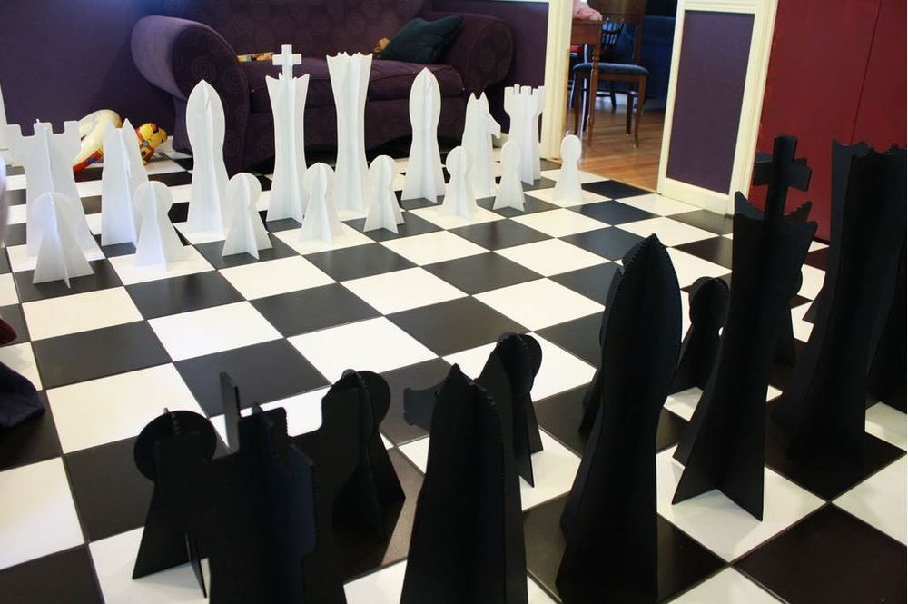 Diy Giant Chess Giant Chess Chess Set Chess