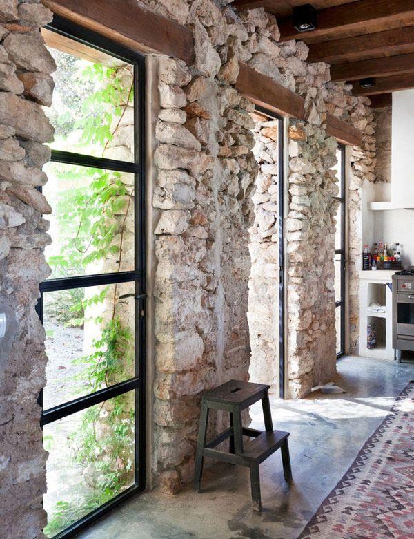 A Beautiful Old Farmhouse On Ibiza My Cosy Retreat Cozy House Farmhouse Remodel Stone Houses