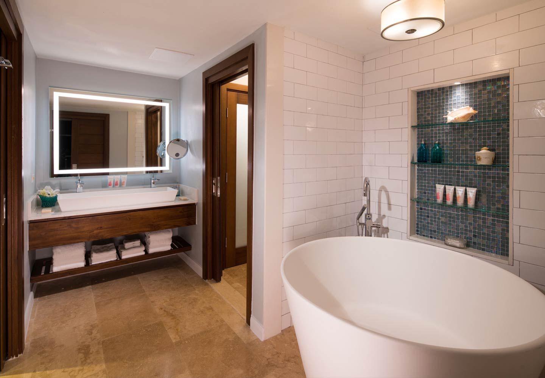 Best The Bathroom In The Italian Beachfront One Bedroom Walkout 400 x 300