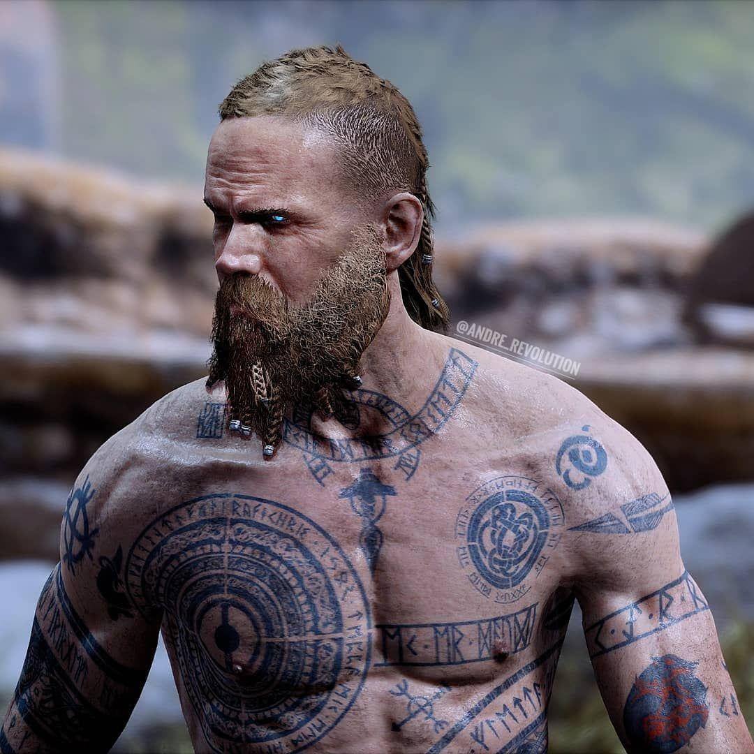 викинги фото на спине вайбере удалила