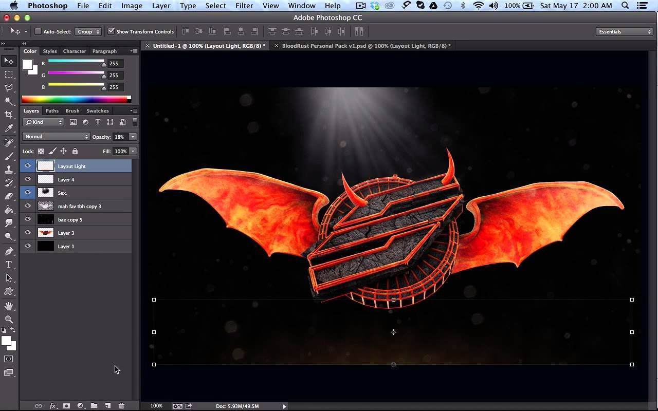 how to use gfx packs stocks basic photoshop tutorial by