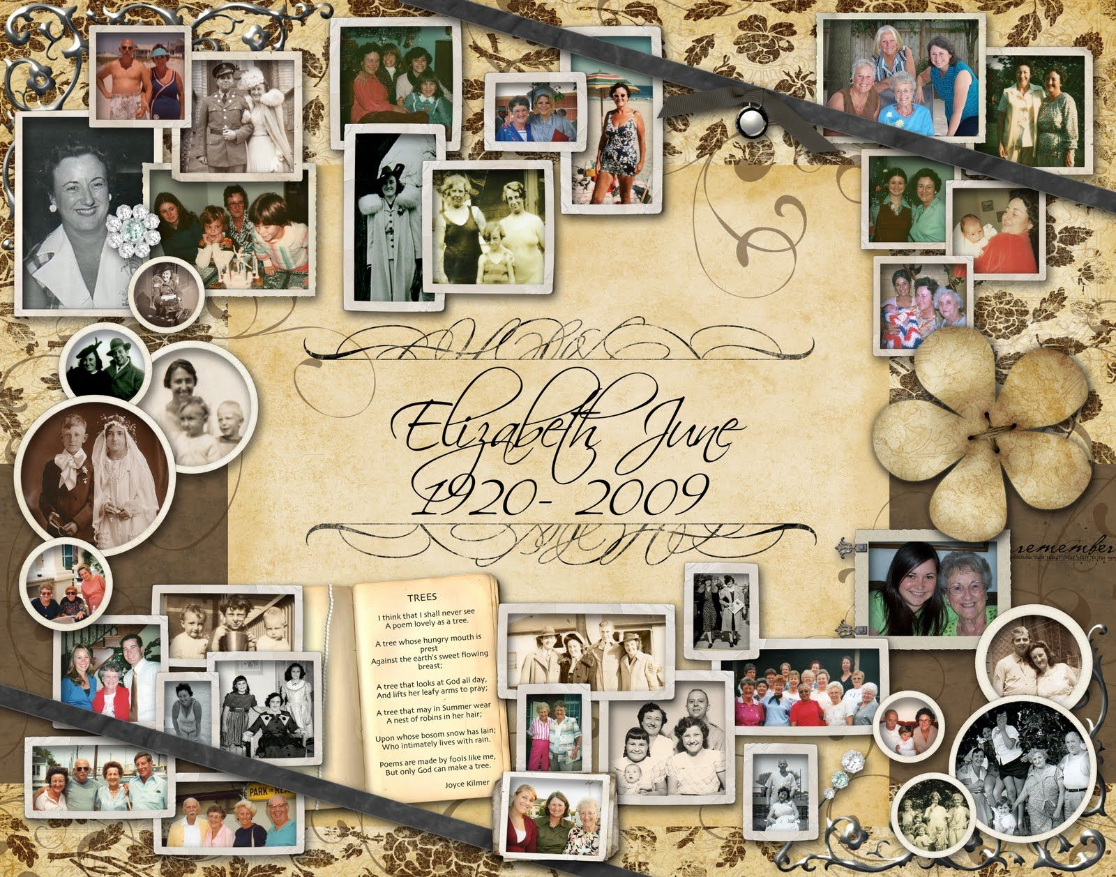 In loving memory of our dear friend Elyse\'s mother, Elizabeth June ...