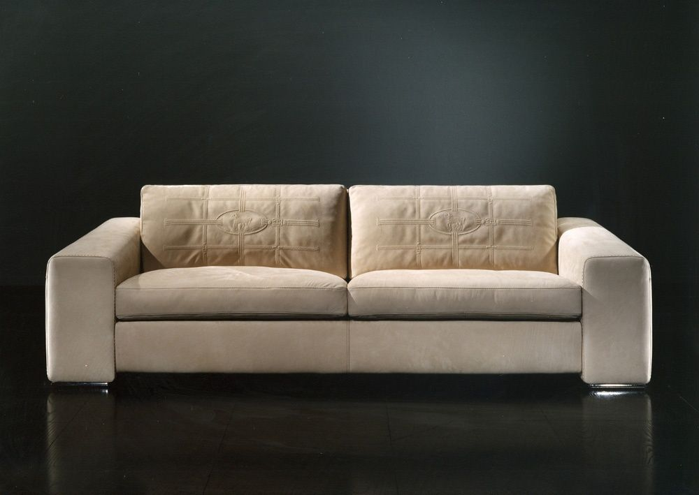 Double sofa Edoardo Fendi Luxury furniture Fendi