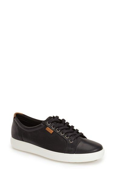 factory price 3abd9 01c9d Free shipping and returns on ECCO  Soft 7  Cap Toe Sneaker (Women) at  Nordstrom.com. A monochrome cap toe subtly refines a low-profile, everyday  sneaker ...