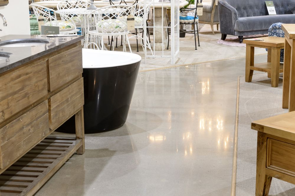 Pin on Commercial & Retail Polished Concrete Early