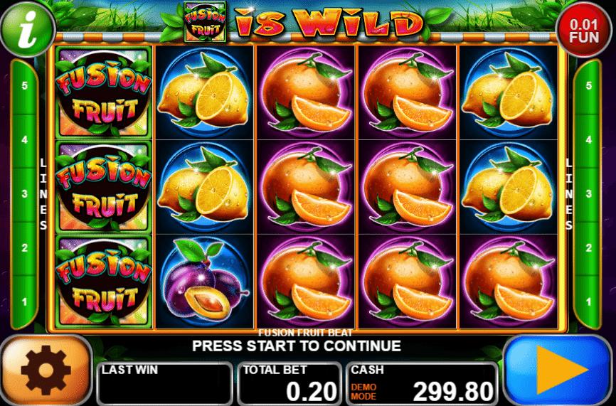 Fusion Fruit Beat Slot Machine