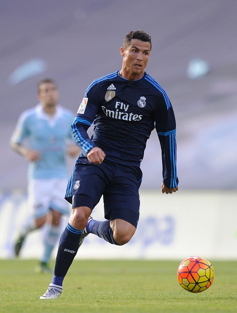 b40d8e17f Cristiano Ronaldo of Real Madrid in action during the La Liga match between Celta  Vigo and Real Madrid at Estadio Balaidos on October 24