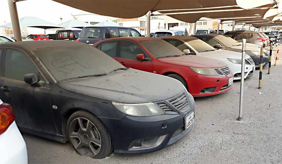 The Abandoned Dealership In Doha Still Full Of Saab Cars Abandoned Cars Saab Car Dealership