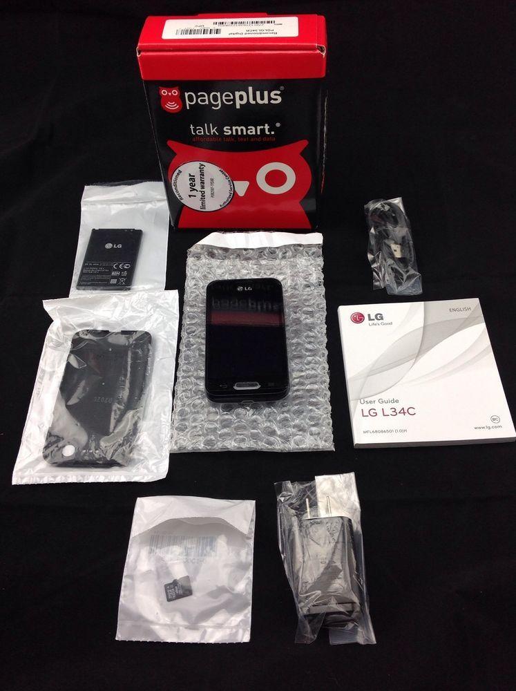 Lg optimus l34c fuel android smartphone blackno contract
