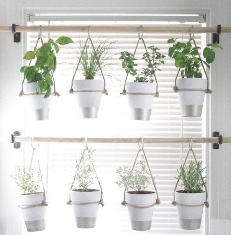16 Creative Diy Vertical Garden Ideas For Small Gardens: 45+ Unique Indoor Herb Garden Ideas For Your Small Home