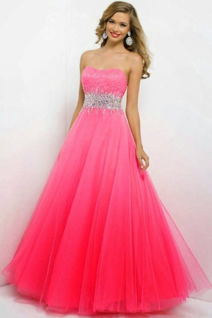 El nuevo color de la moda: Vestidos color rosado | Vestidos De ...