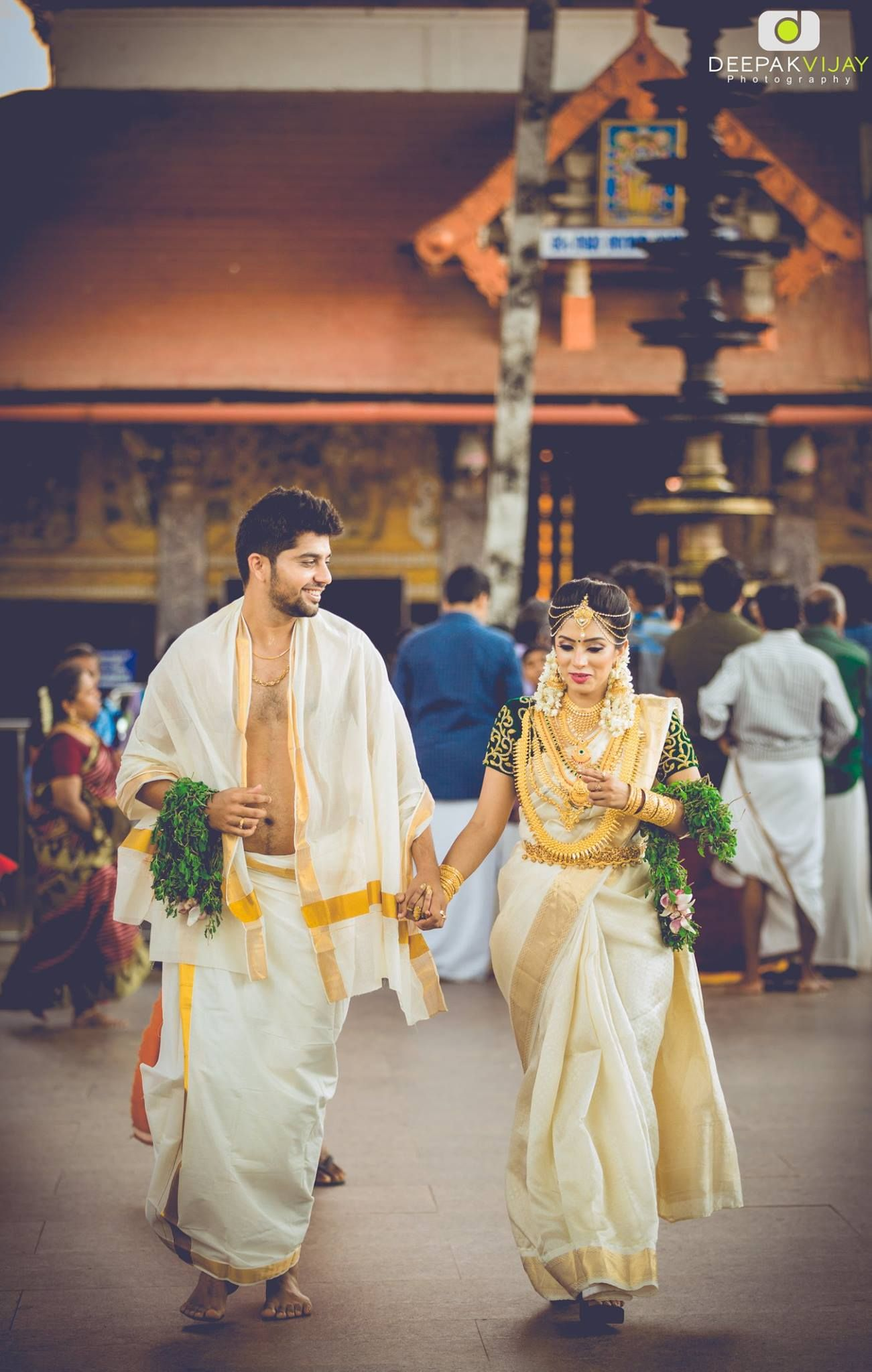 Exclusive diya menon u karthik subramanian in bridal