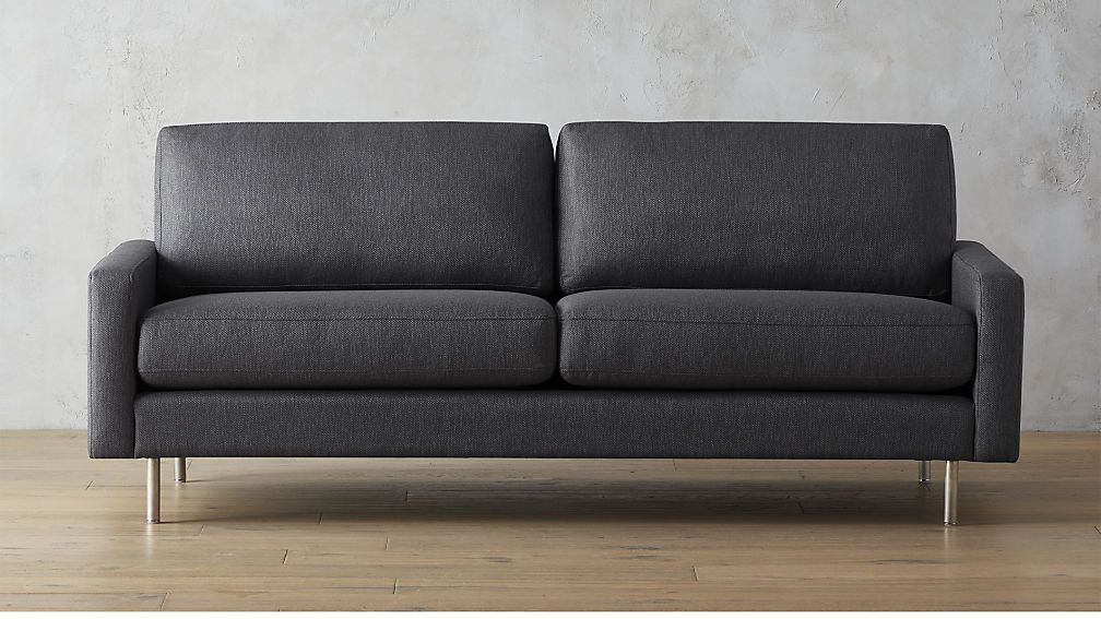 Central Graphite Sofa Cb2 Sofa Modern Sofa Modern Furniture
