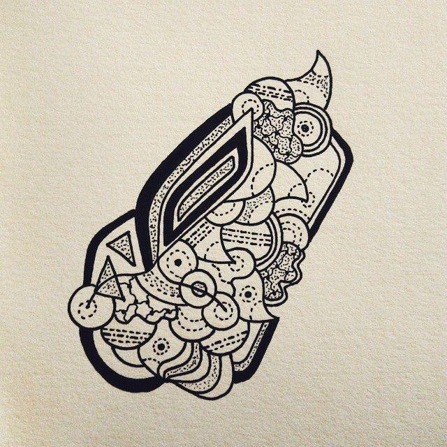 Line work on a Sunday. #draw #art #doodle #sketch #staedtler #dotsandlines #instaart #blackandwhite