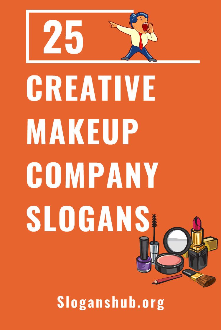 25 Creative Makeup Company Slogans Taglines Makeup Companies