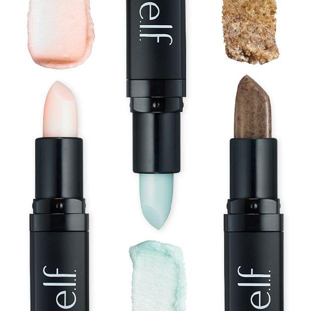 (3 Pack) e.l.f. Studio Lip Exfoliator - Mint Maniac No-Ad Sunblock SPF 30, Lip Protectant, 0.15 Ounce Stick (Pack of 6)