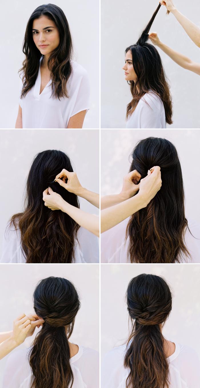 Frisuren mit locken anleitung