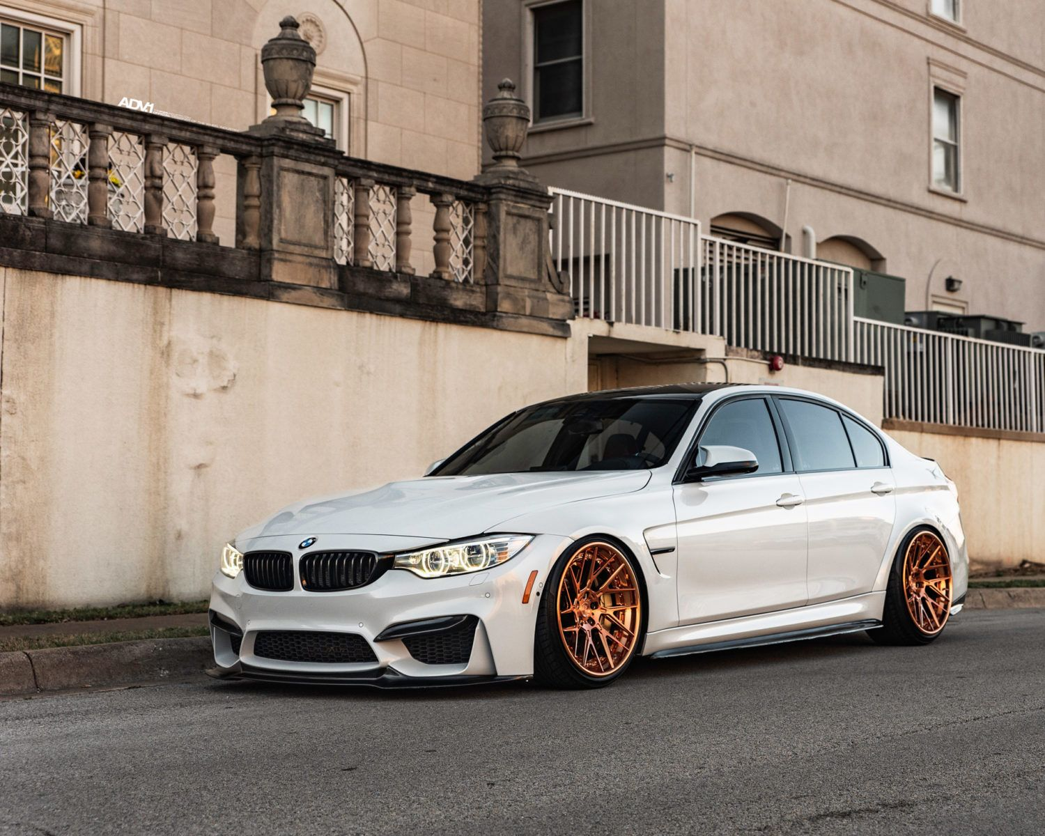 Alpine White Bmw F80 M3 Adv8r Track Spec Cs Wheels In 2020 Bmw
