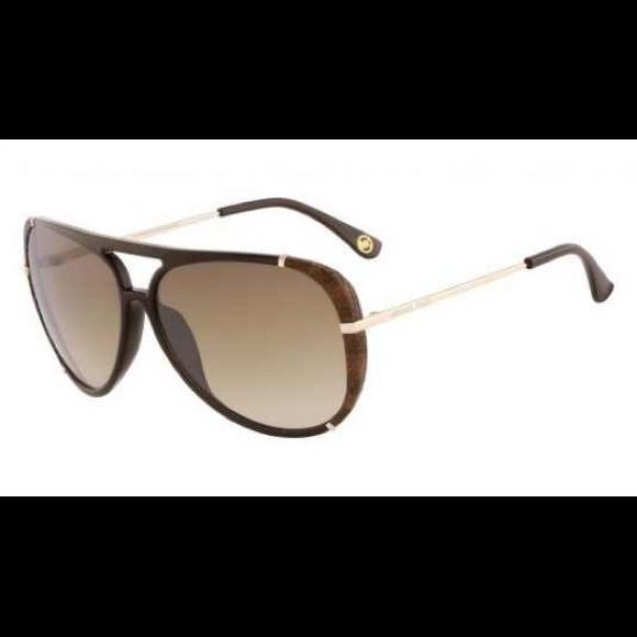 26657d932e33e SOLD 🙂Michael Kors Julia Aviators M2484S Brown Authentic. Michael Kors  Julia Aviators M2484S. Worn only 3 times. Comes with MK case