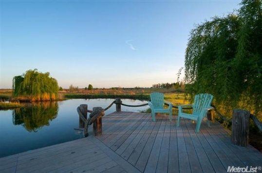 Dock Lake Pond Dream House Pinterest Railings