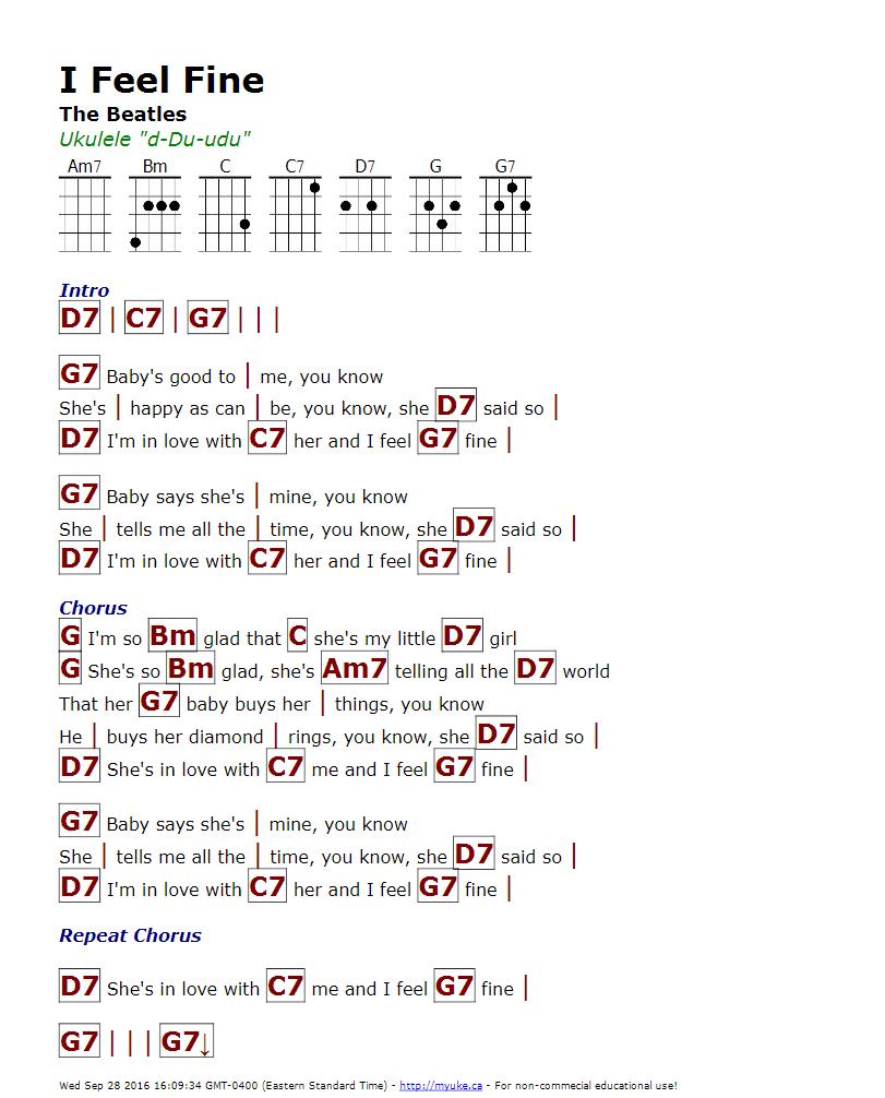 I feel fine the beatles httpmyuke ukulele songs i feel fine the beatles httpmyuke ukulele tabsukulele hexwebz Image collections