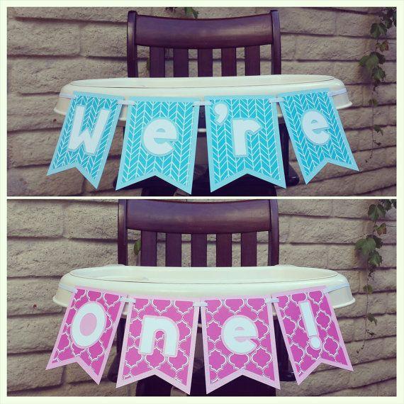 Pin by Victoria Vigoren on twins first birthday Pinterest High