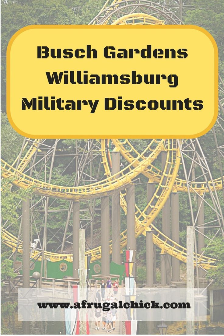 Busch Gardens Military Discounts (Updated for 2020