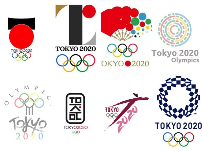 Pin by John Nixon on Olympic Emblems Olympic logo, Tokyo