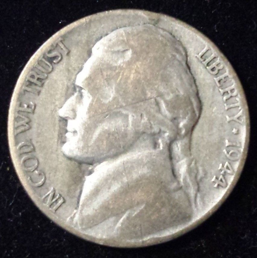 SILVER Minted in U.S.A WWII Foreign coin rare .