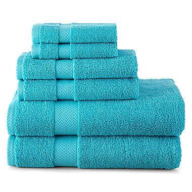 Jcp | JCPenney Home™ 6 Pc. Bath Towel Set