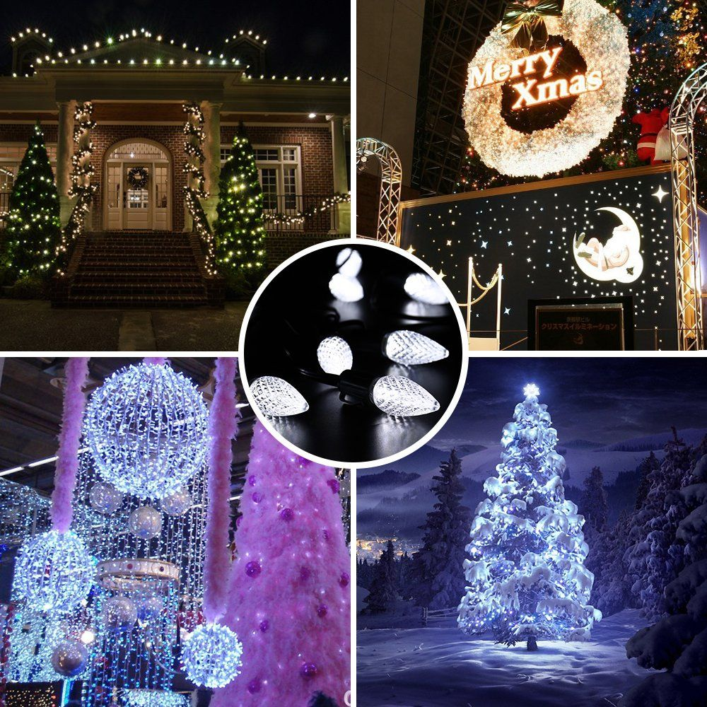 Halloween Party Decoration Brizled Faceted C9 Led Indoor