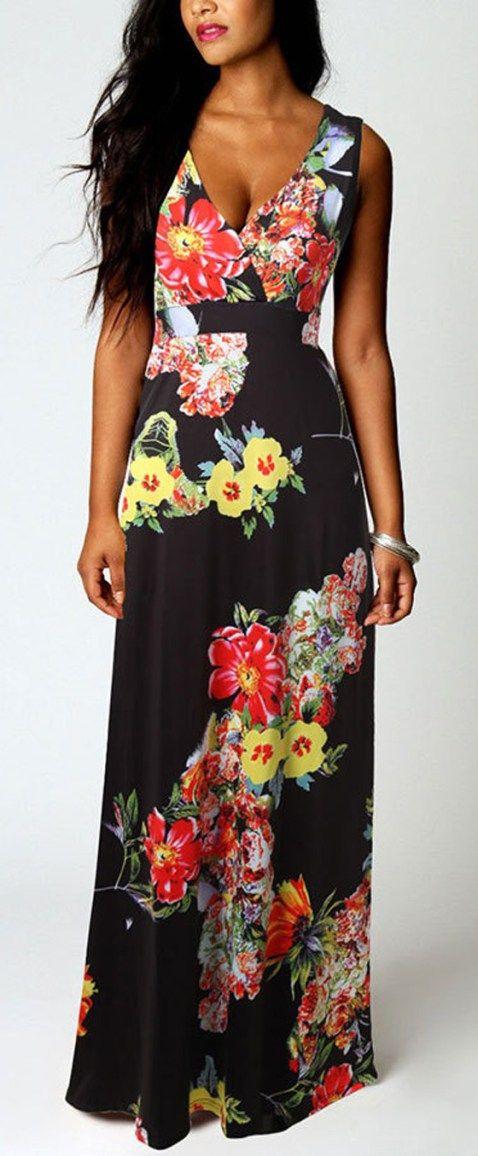 FLORAL DRESSES IDEA NO 90