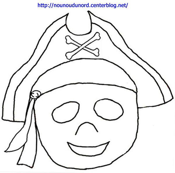 Masque pirate imprimer carnival aurora sleeping beauty et mardi gras - Coloriage masque de carnaval ...
