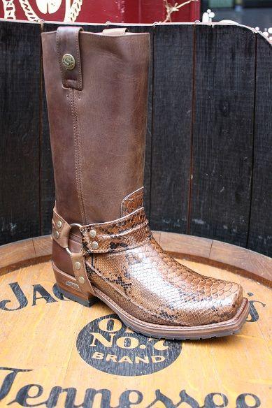 Sendra Boots 12209 Mad Dog Tang Lavado Biker Boots brown