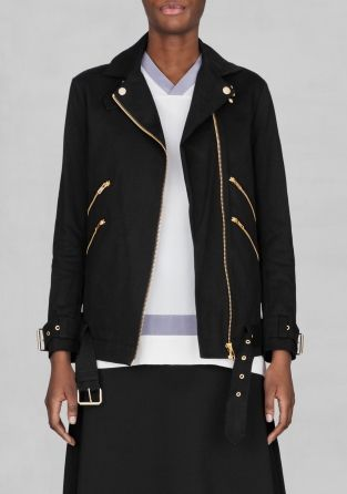 Biker jakke