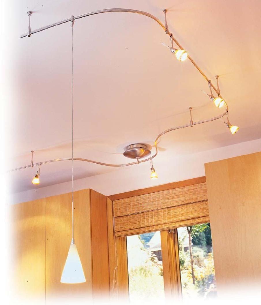 Track lighting ikea roselawnlutheran for Flexible track lighting ikea