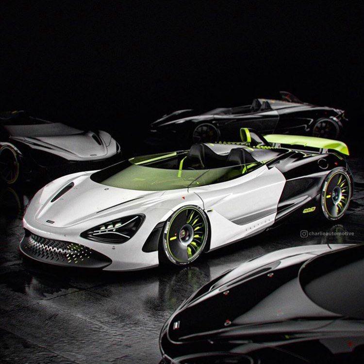 Mclaren Speedster Via charlieautomotive — 🎥 Youtube in