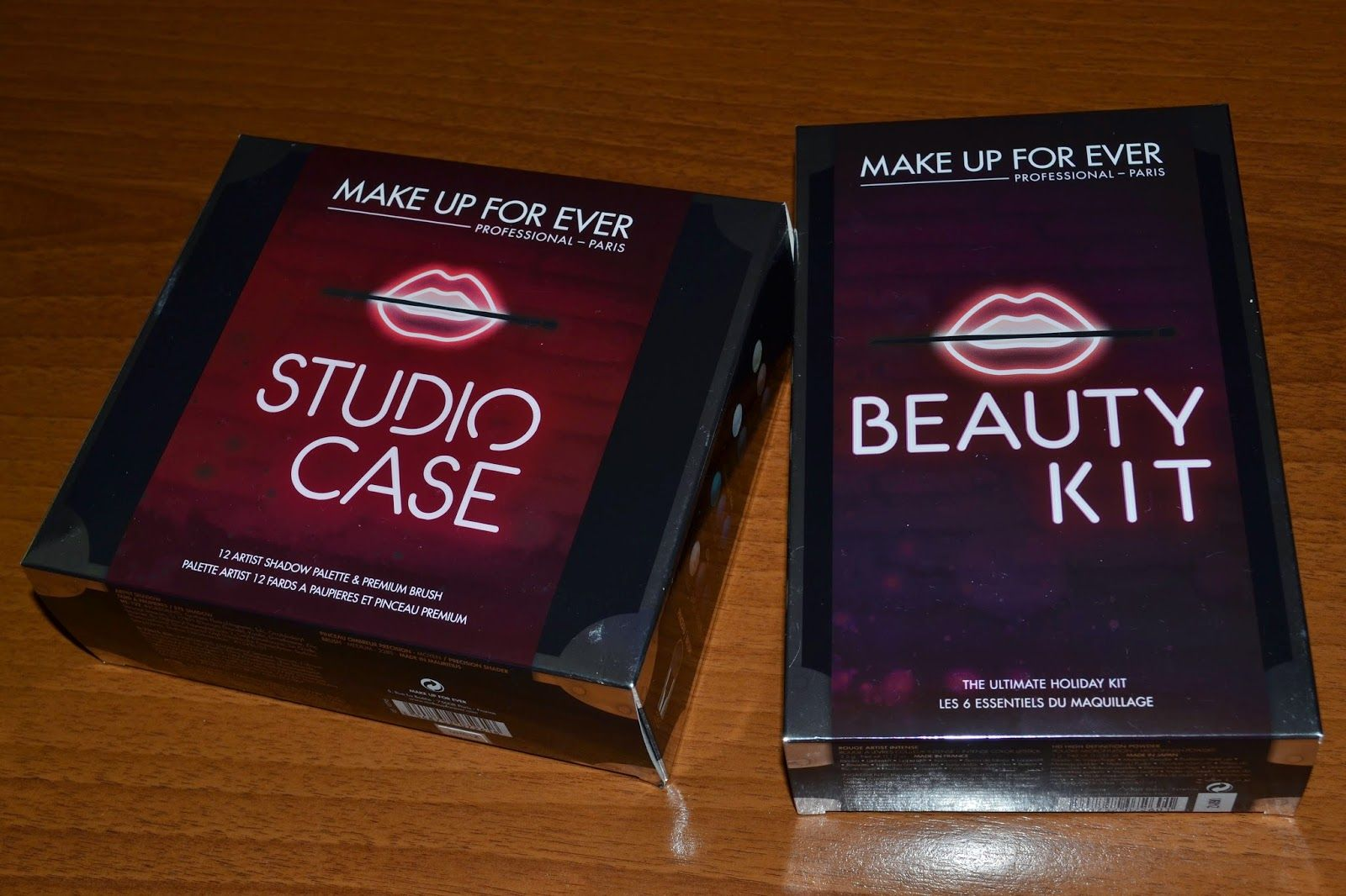Gennymakeup: STUDIO CASE & BEAUTY KIT MAKE UP FOR EVER