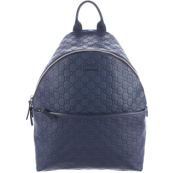 e7b439ebb44c Pre-owned Gucci Guccissima Leather Backpack ( 1