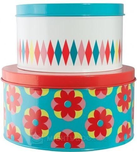 General Eclectic Cake Tin Set Cake Tins Eclectic Tin