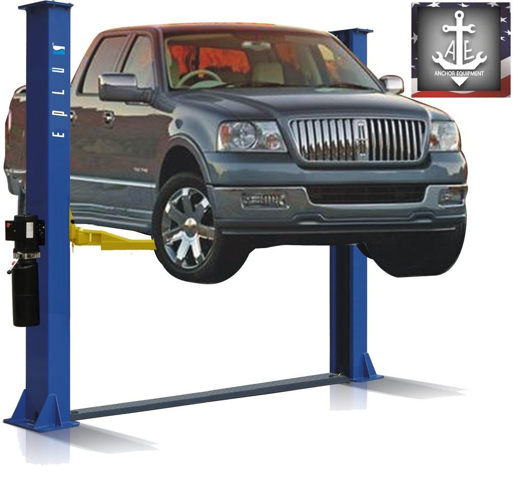 2 Post Symmetric Base Plate Car Lift L2900 9K 9000 9,000
