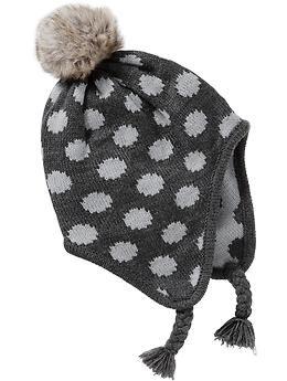 Girls Knit Trapper Hats  fe1772e998f